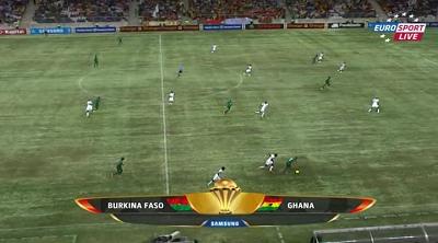 Кубок Африканских Наций 2013 / 1/2 финала / Гана - Буркина-Фасо