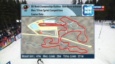 Биатлон: Чемпионат Мира 2013. Нове-Место (Чехия). Спринт. Мужчины
