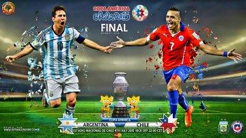 Чили - Аргентина прямая видео трансляция онлайн Чили - Аргентина смотреть онлайн 04.07.15