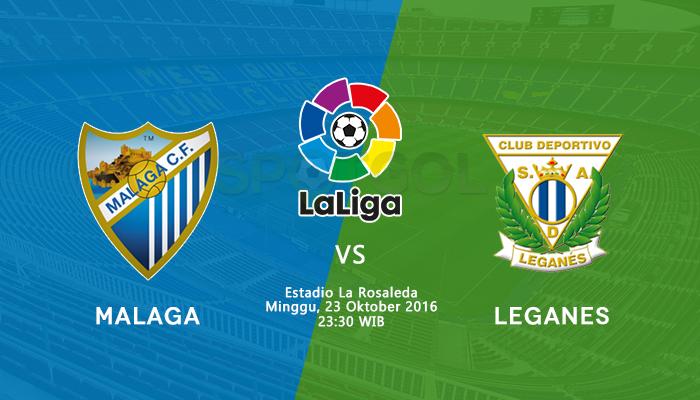 ставки на матч Малага Леганес