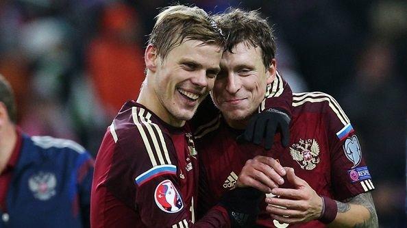 Кокорин и Мамаев получили 30 млн рублей за выход сборной на Евро