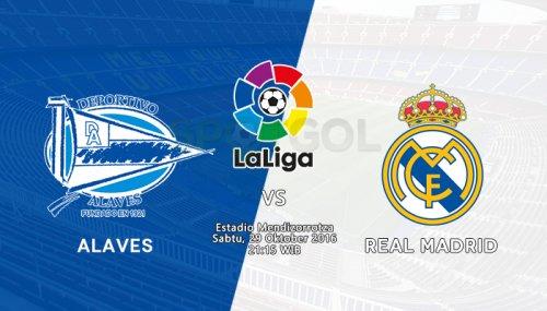 Алавес - Реал Мадрид обзор матча (29.10.2016)