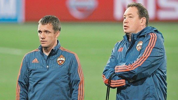 Слуцкий объявил игрокам, что новым тренером ЦСКА будет Ганчаренко