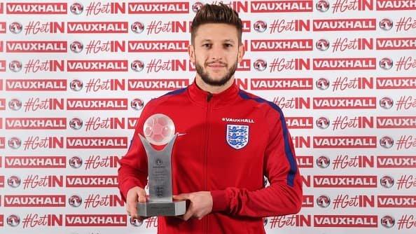 Лаллана признан лучшим игроком сборной Англии в 2016 году
