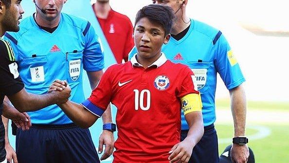 Goal: Шахтёр подпишет 17-летнего чилийца Альенде