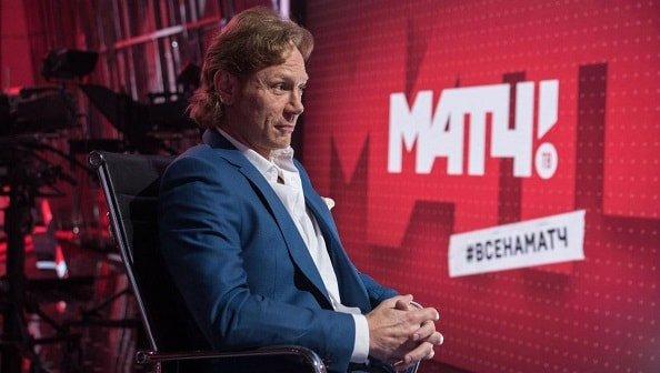 Карпин - главный редактор футбольных трансляций на Матч ТВ