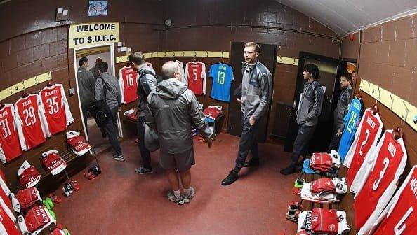 Арсенал выделит Саттону £ 50 тысяч на ремонт раздевалок