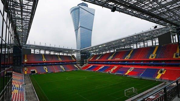 Стадион ЦСКА получил название ВЭБ-Арена
