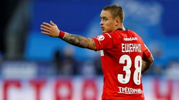 К Ещенко проявляют интерес три клуба РФПЛ