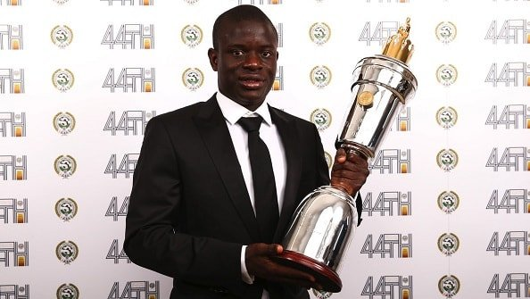 Канте признан игроком сезона в АПЛ по версии PFA