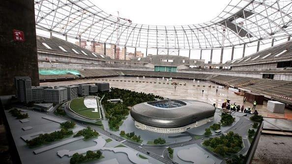 Стадион Динамо может открыться раньше запланированного срока