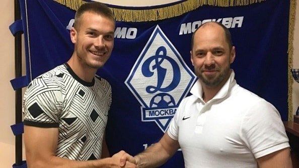 Динамо подтвердило переход Шуньича