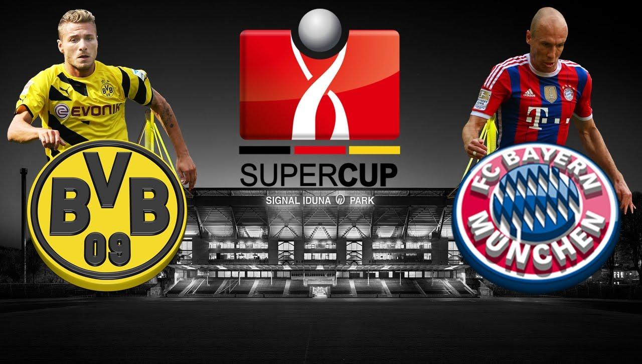 Боруссия дортмунд бавария смотреть онлайн суперкубок