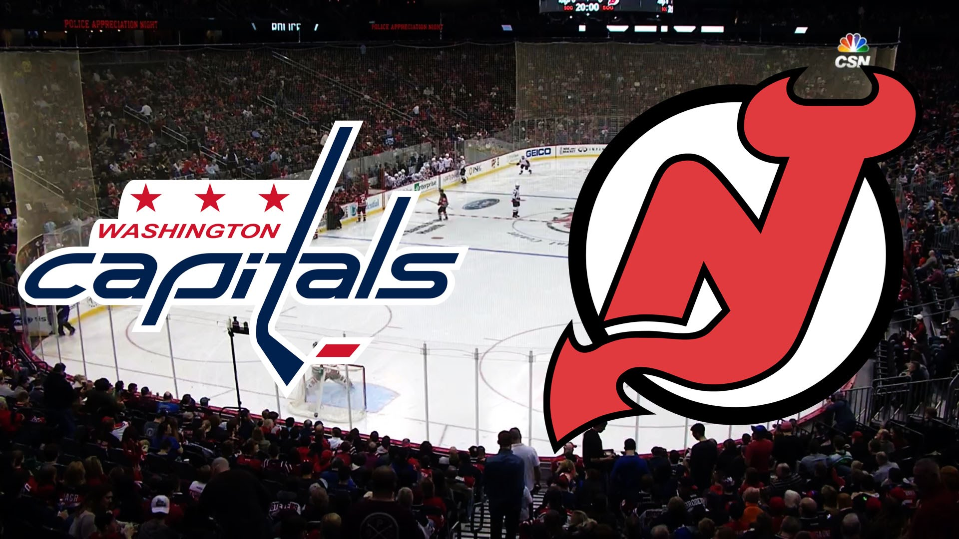NHL 17/18, RS: Washington Capitals - New Jersey Devils (13.10.2017)