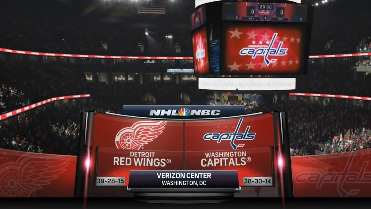 Washington Capitals - Detroit Red Wings
