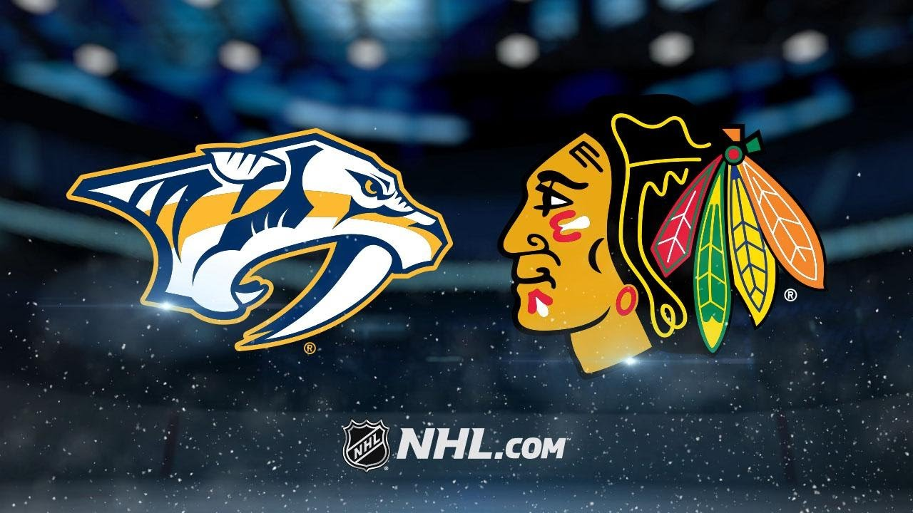 Nashville Predators - Chicago Blackhawks
