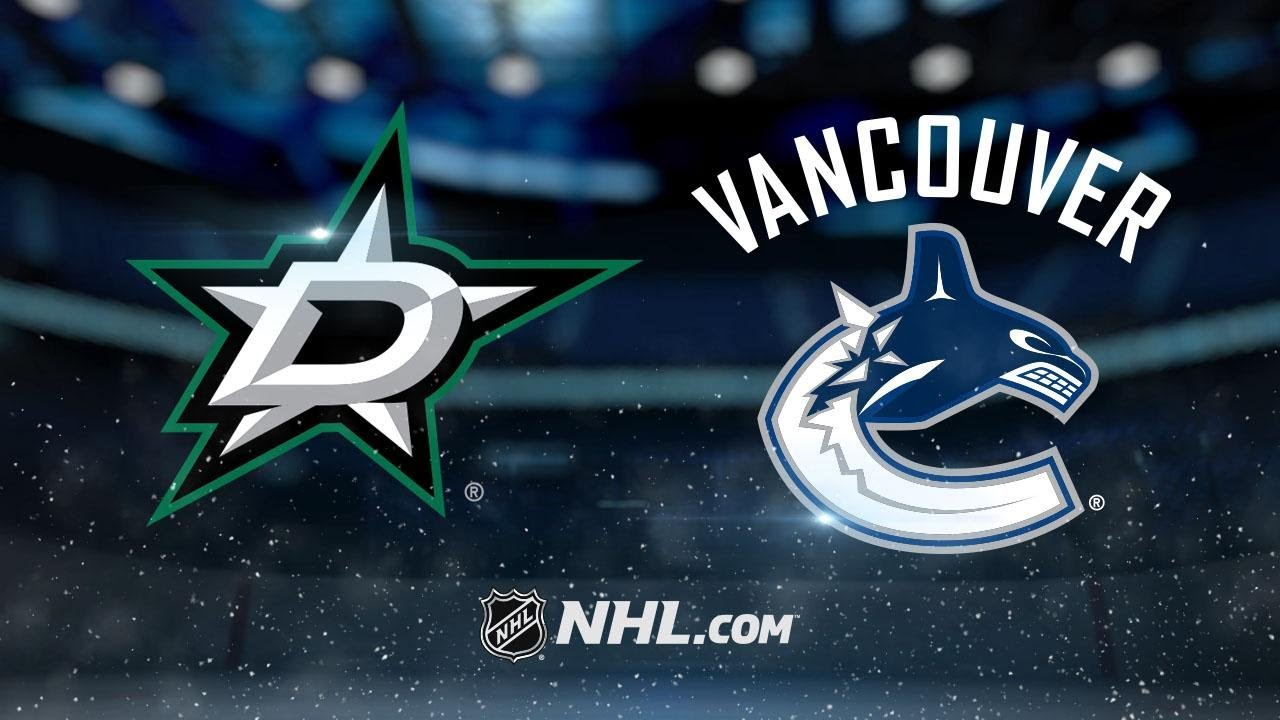 NHL 17/18, RS: Dallas Stars - Vancouver Canucks (30.10.2017)