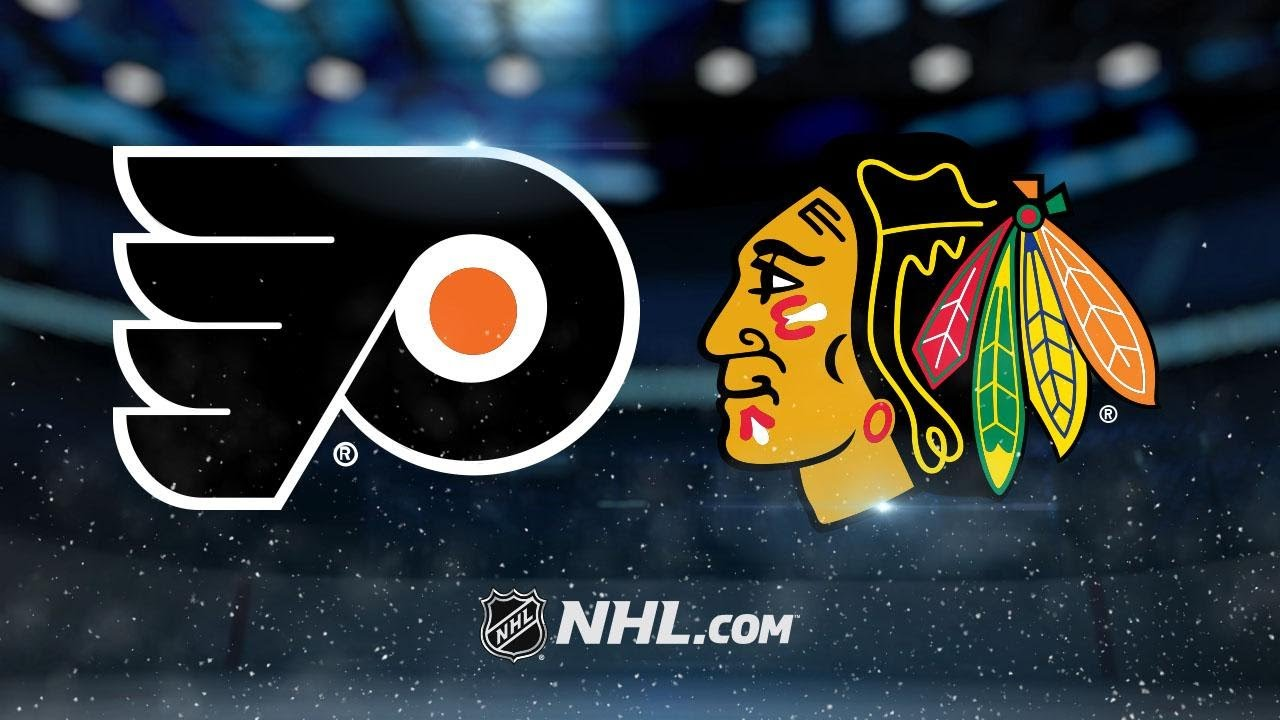 NHL 17/18, RS: Philadelphia Flyers - Chicago Blackhawks (01.11.2017)