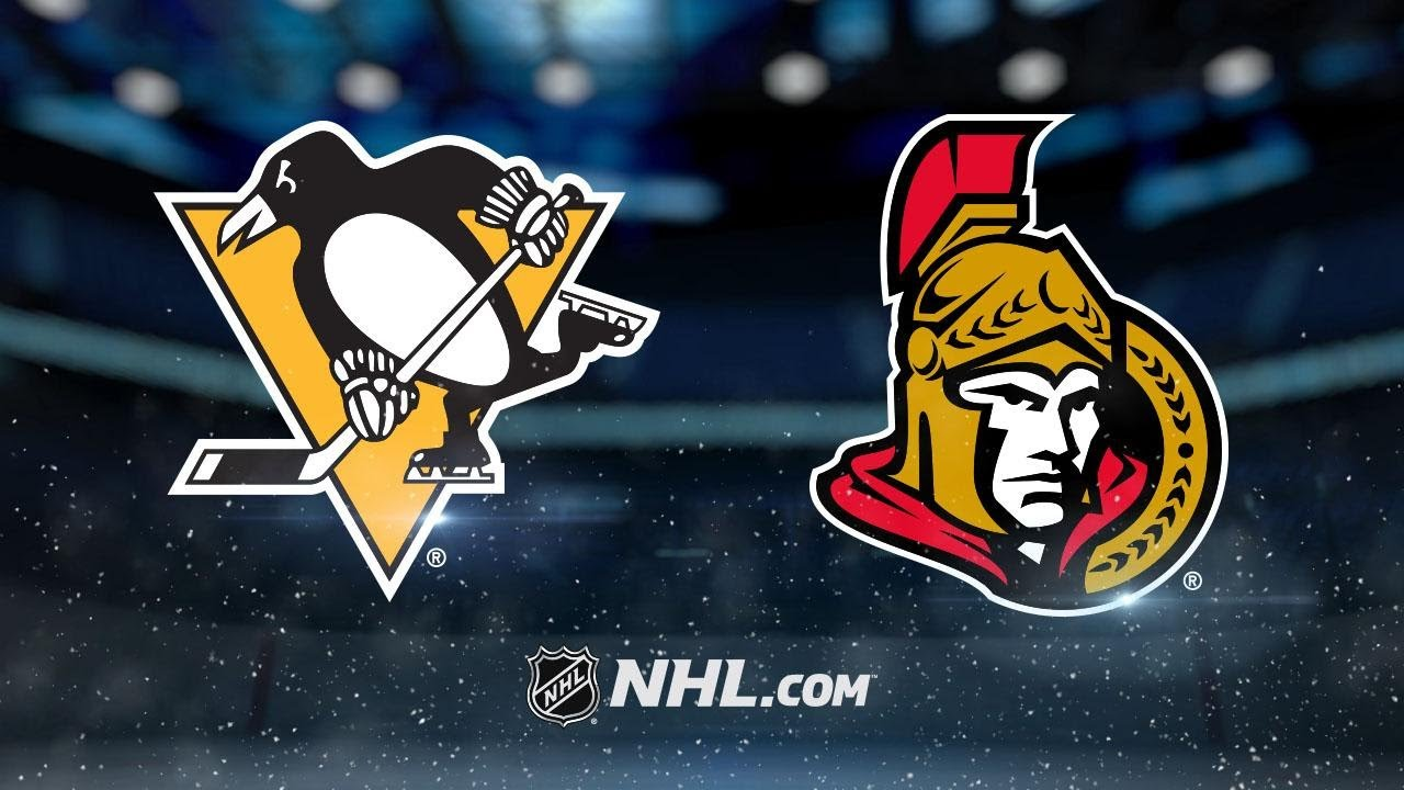 Pittsburgh Penguins - Ottawa Senators