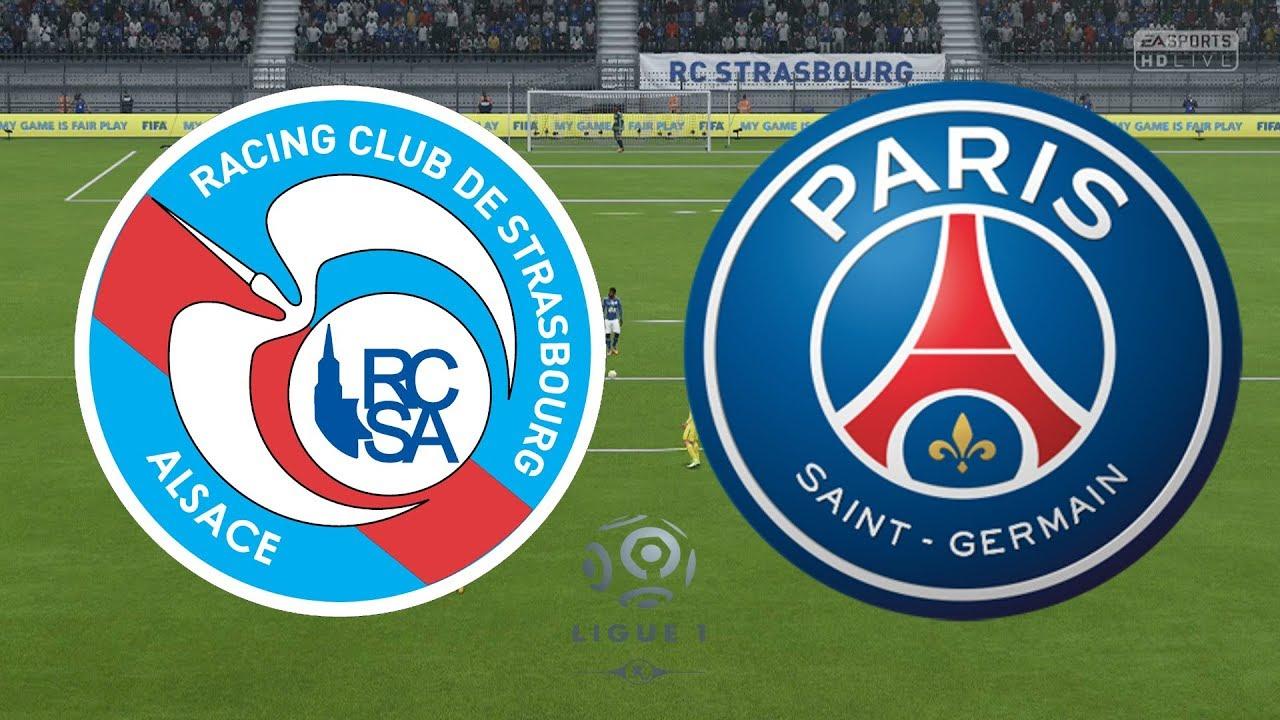 Футбол Страсбург — ПСЖ прямой эфир / видео трансляция 5 12 2018