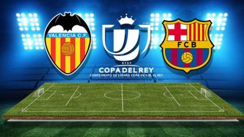 Валенсия – Барселона обзор матча (08.02.2018)