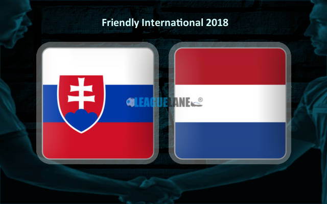 Словакия – Нидерланды (31.05.2018)   Товарищеский матч 2018