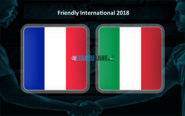 Франция – Италия (01.06.2018)   Товарищеский матч 2018