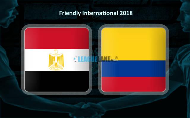 Египет – Колумбия (01.06.2018)   Товарищеский матч 2018