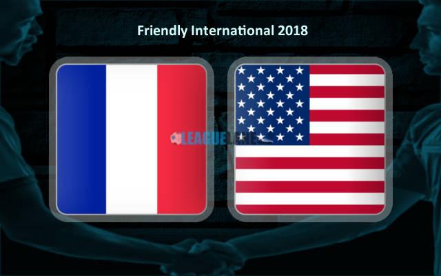 Франция – США (09.06.2018) | Товарищеский матч 2018
