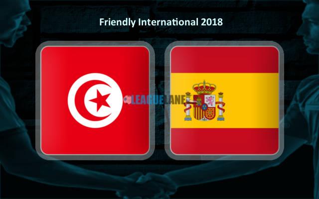 Испания – Тунис (09.06.2018) | Товарищеский матч 2018