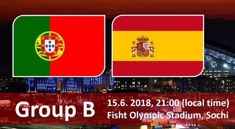Португалия – Испания (15.06.2018) | Чемпионат Мира 2018