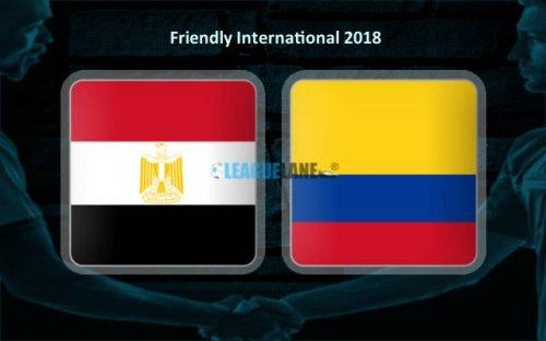 Египет – Колумбия обзор матча (01.06.2018)