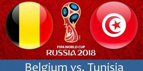 Бельгия - Тунис обзор матча (23.06.2018)