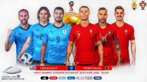 Уругвай – Португалия обзор матча (29.06.2018)