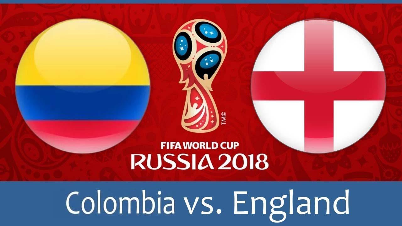Колумбия – Англия