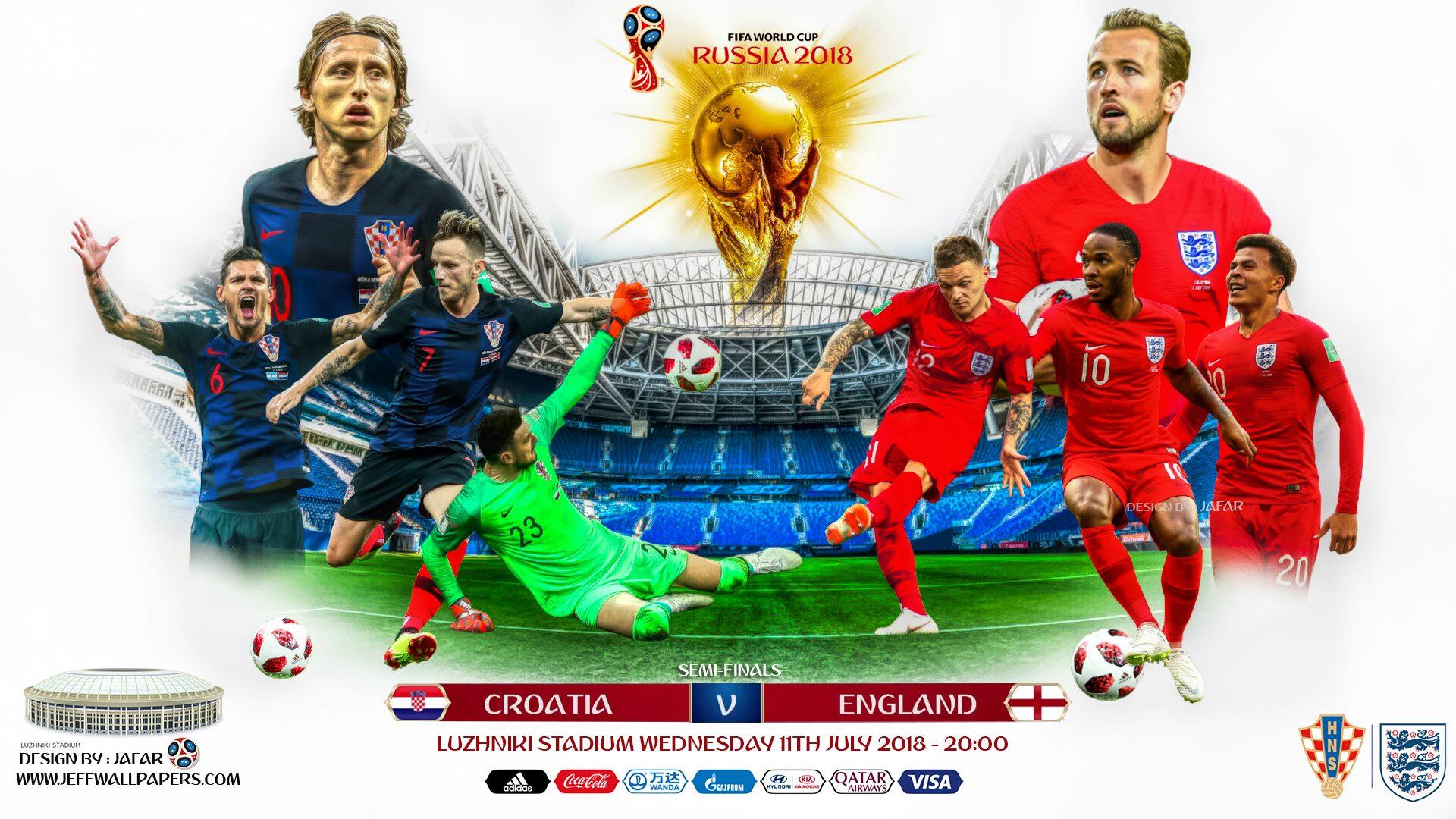 Хорватия – Англия