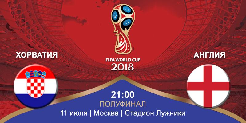 Хорватия – Англия (11.07.2018)   Чемпионат Мира 2018
