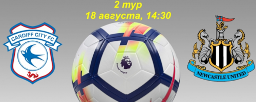 Кардифф - Ньюкасл обзор матча (18.08.2018)