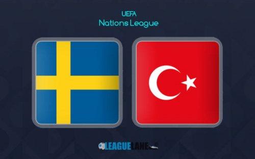 Швеция – Турция обзор матча (10.09.2018)