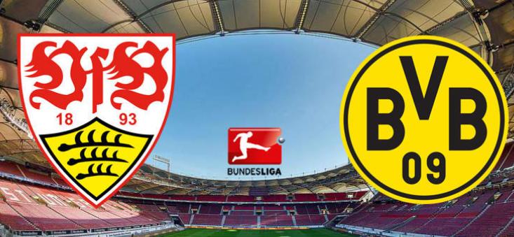 Футбол штутгарт боруссия дортмунд смотреть онлайн