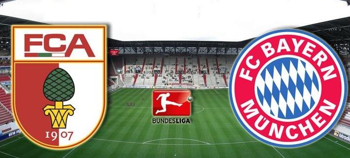 Смотреть онлайн футбол аугсбург бавария