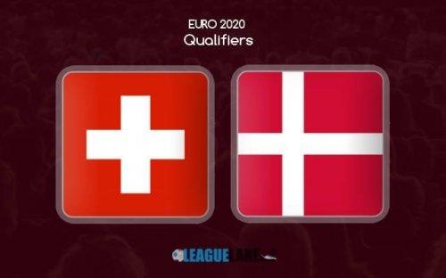 Швейцария - Дания обзор матча (26.03.2019)