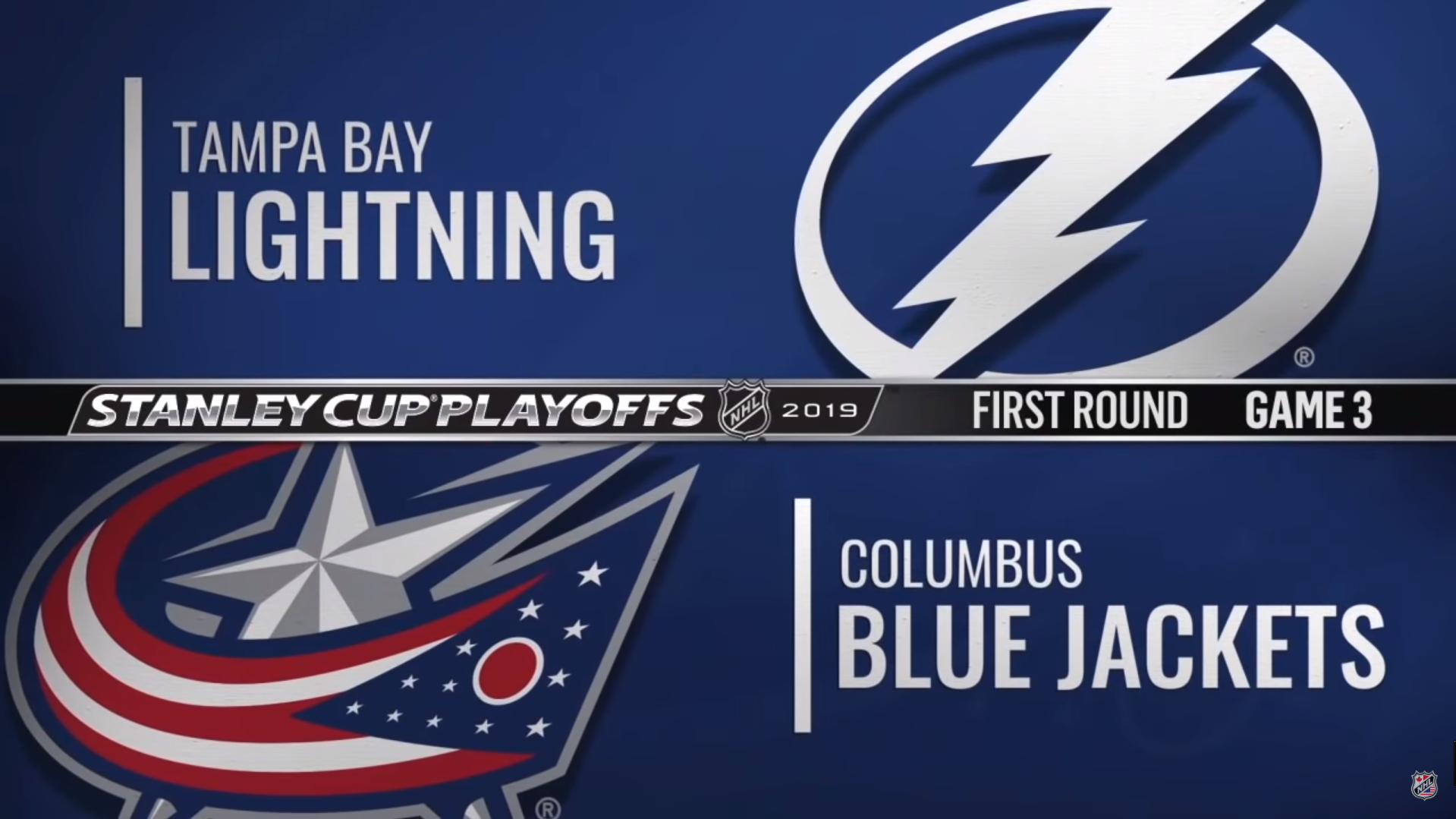 Tampa Bay Lightning - Columbus Blue Jackets