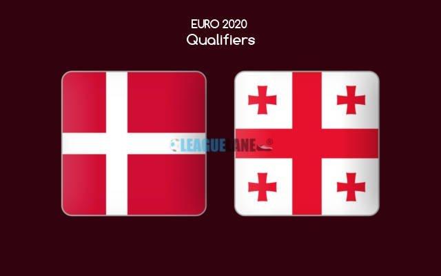 Дания - Грузия