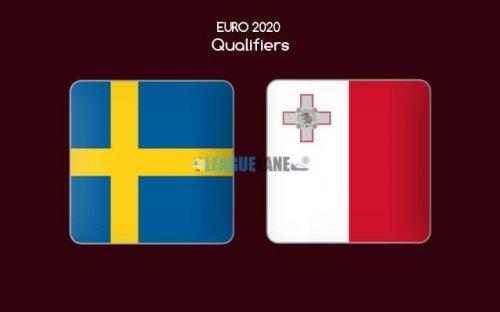 Швеция - Мальта обзор матча (07.06.2019)