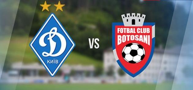 Динамо Киев - Ботошани