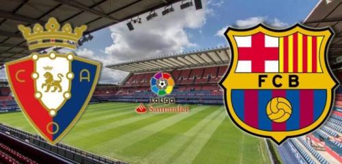 Осасуна - Барселона обзор матча (31.08.2019)