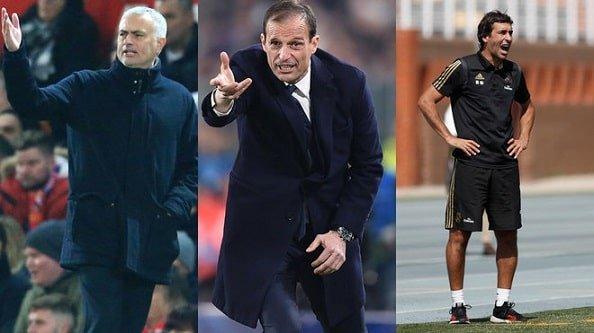 Моуриньо, Аллегри и Рауль — кандидаты на замену Зидана в «Реале»