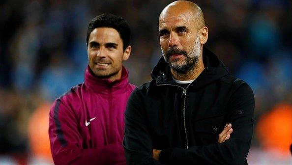 Гвардиола видит своим преемником Артету на посту тренера «Ман Сити»