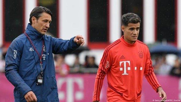 «Бавария» довольна Коутиньо и готова подписать его на постоянной основе